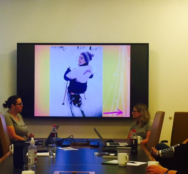 Det var en morsom utfordring å snakke for HR-personell (Foto: Hanne Wigemyr).