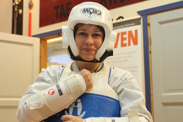 Christine, taekwondo